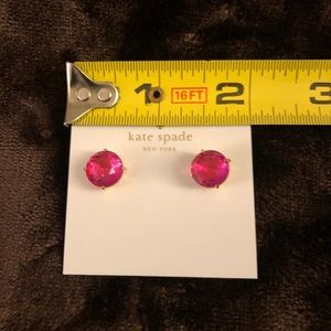 kate spade Jewelry - KATE SPADE New York Gumdrop Crystal Stud Earrings